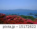 長串山のつつじと九十九島の眺め 15172622