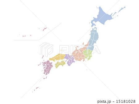 日本地図 15181028
