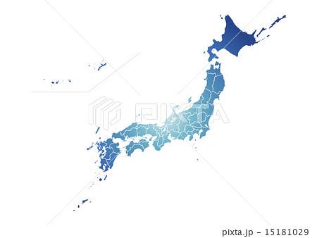 日本地図 15181029
