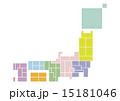 日本地図 15181046