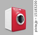 タッチパネル制御のスマート洗濯機 15183200