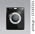 タッチパネル制御のスマート洗濯機 15183201