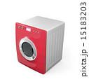 タッチパネル制御のスマート洗濯機 15183203