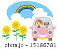 夏 笑顔でドライブ 15186781