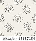 パターン 柄 模様のイラスト 15187154
