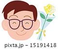 父の日 おとうさん 花のイラスト 15191418