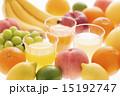 ジュースとフルーツ 15192747