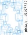 アブストラクト 背景素材 正方形のイラスト 15197729