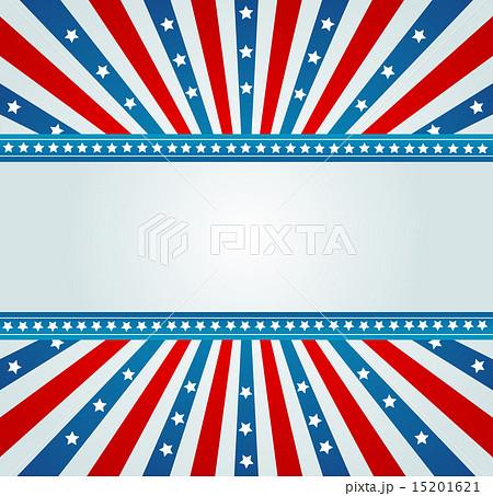 old american flag bannerのイラスト素材 15201621 pixta