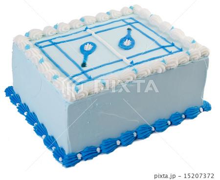 cake, Ice-cream cake on backgroundの写真素材 [15207372] - PIXTA