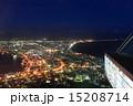 函館山展望台から見た100万ドルの夜景 15208714
