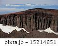 浅間山・前掛山と中央アルプス遠望 15214651
