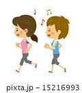 ジョギング【二頭身・シリーズ】 15216993