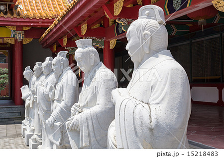 長崎 孔子廟 72賢人石像 15218483