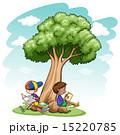樹木 樹 ツリーのイラスト 15220785