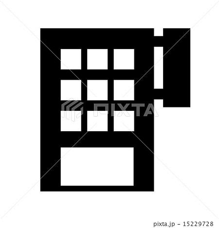 ビルのシルエットのイラスト素材 [15229728] - PIXTA