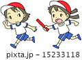 リレー 子供 走るのイラスト 15233118