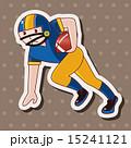 フットボール ラグビー タッチダウンのイラスト 15241121