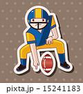 フットボール ラグビー タッチダウンのイラスト 15241183