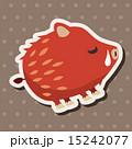 いのしし イノシシ 猪のイラスト 15242077