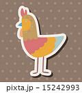 鳥 イラスト イラストレーションのイラスト 15242993