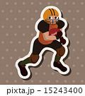 フットボール ラグビー タッチダウンのイラスト 15243400