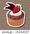 スウィーツ ケーキ デザートのイラスト 15244337