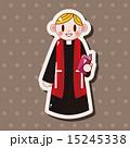 司祭 神父 聖職者のイラスト 15245338
