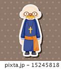 司祭 神父 聖職者のイラスト 15245818