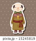司祭 神父 聖職者のイラスト 15245819