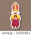 司祭 神父 聖職者のイラスト 15245821