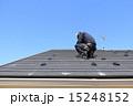 施工中 空 青空の写真 15248152