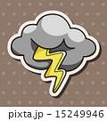 雷 天気 気象のイラスト 15249946