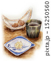 フードイラスト~焼酎グラス・おつまみ 15250560