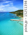 桟橋 海 沖縄の写真 15251398