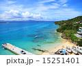 桟橋 沖縄 海の写真 15251401