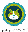 猫 ペット 愛玩動物のイラスト 15255253