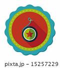 yo yo flat icon with long shadow,eps 10 15257229