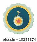 yo yo flat icon with long shadow,eps 10 15258874