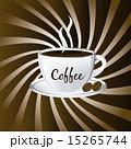 ベクトル 茶色 カップのイラスト 15265744