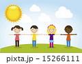 キッズ 子供 児童のイラスト 15266111