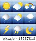 気象 天気 天候のイラスト 15267818