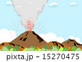 火山 噴火 15270475
