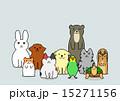 ペットのグループ 15271156