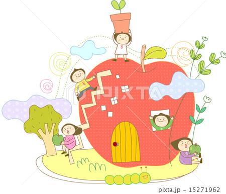 子供達の天国のイラスト素材 15271962 Pixta