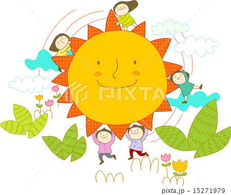 子供達の天国のイラスト素材 15271979 Pixta