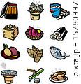 食べ物アイコン集 15280997