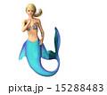 マーメイド 人魚 ポーズのイラスト 15288483