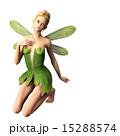 ポーズする 妖精 フェアリー 3DCGイラスト素材 15288574