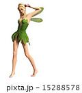 脇を見せる 妖精 フェアリー 3DCGイラスト素材 15288578